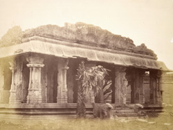 Mandapa of the Malavanti Raghunatha Temple, Vijayanagara 1384